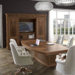 01130E Art&Moble Стол для совещания с электрификацией