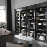 Стеллаж для книг открытый в классическом стиле Art&Moble из модульных книжных шкафов