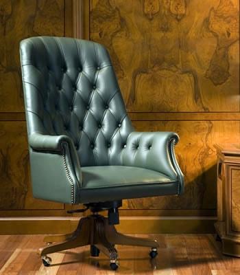 Кресло руководителя Комфорт 01012 Art&Moble натуральная кожа