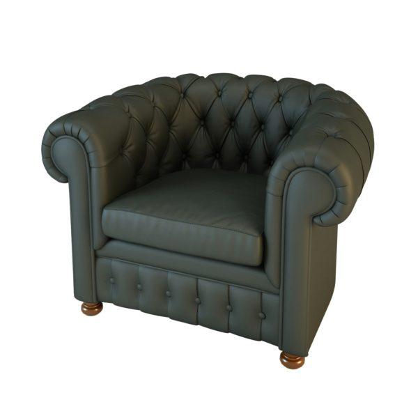 Кресло Честер 01009 Art&Moble, натуральная кожа