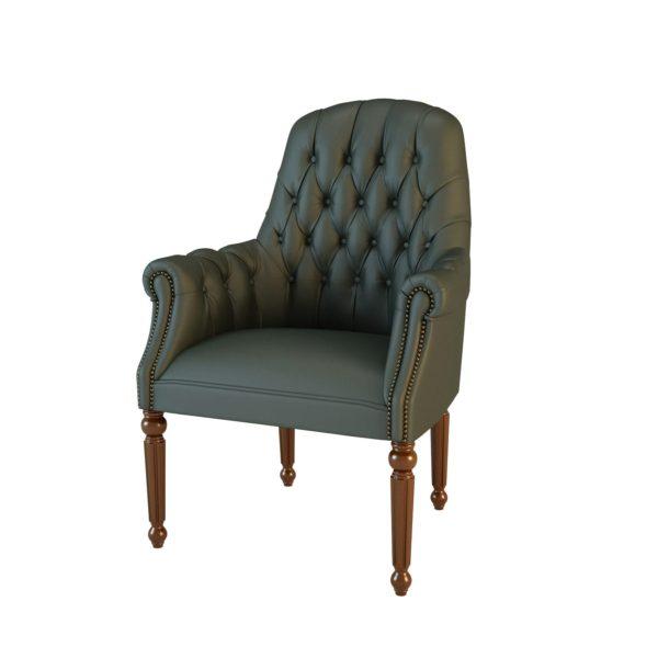 Кресло конфиденте Комфорт 01013 Art&Moble на 4-х опорах