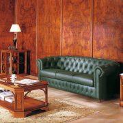 Art&Moble - отделка кабинета натуральным шпоном корня оливкового ясеня