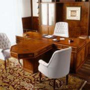 Стол руководителя Art&Moble c левой боковой тумбой