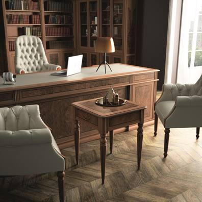Кабинет руководителя Art&Moble с креслами Комфорт