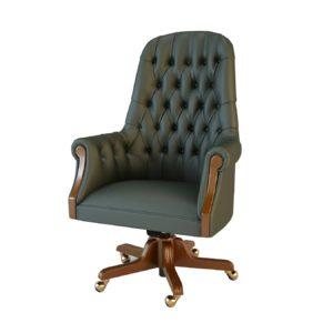 Кресло руководителя Комфорт 01012BM Art&Moble подлокотники дерево