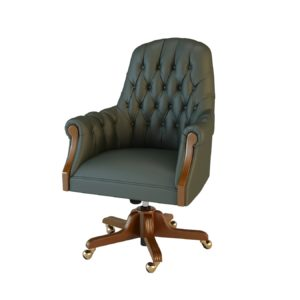 Кресло конфиденте Комфорт 01013GBM Art&Moble подлок. дерево